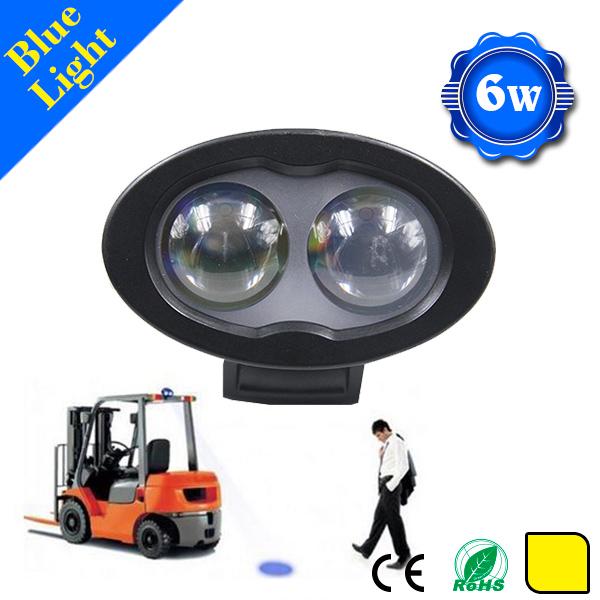 Waterproof High Lumen Forklift Warning Light 12v 48v Blue Spot Light For Forklift Changzhou